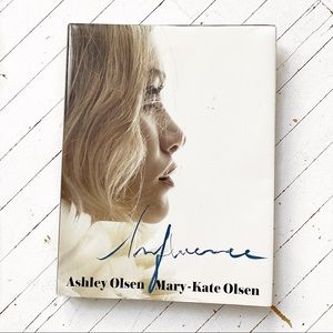 INFLUENCE Ashley MaryKate Olsen coffee table book.